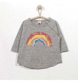Play Up Glitter Rainbow Baby Tee