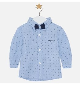 Mayoral Baby Shirt with Bowtie