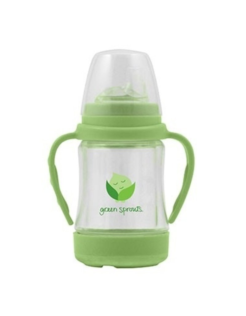 Green Sprouts Glass Sip 'n Straw Cup