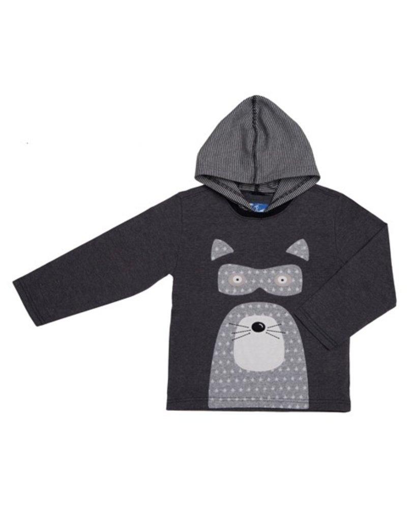Kapital K Raccoon Applique Hoodie (Baby)