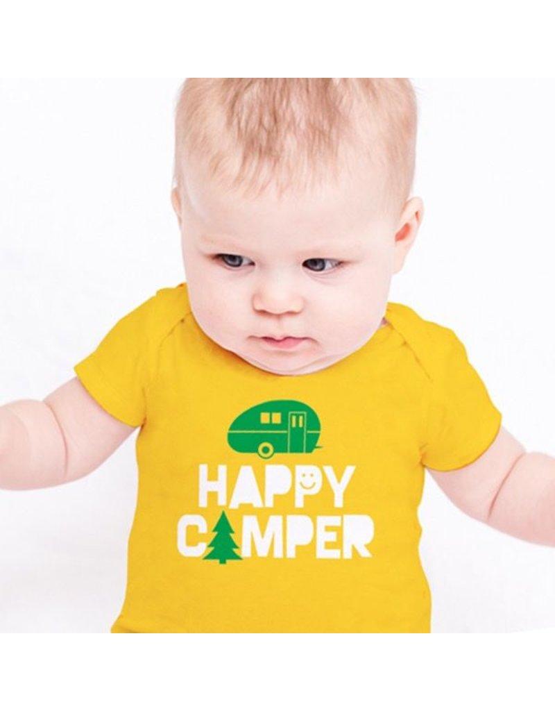 Rock Scissor Paper Happy Camper Onesie