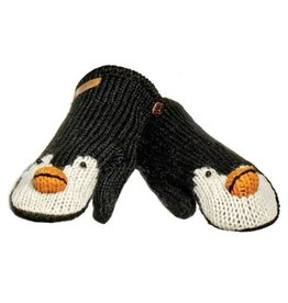 KnitWits Peppy the Penguin Mittens