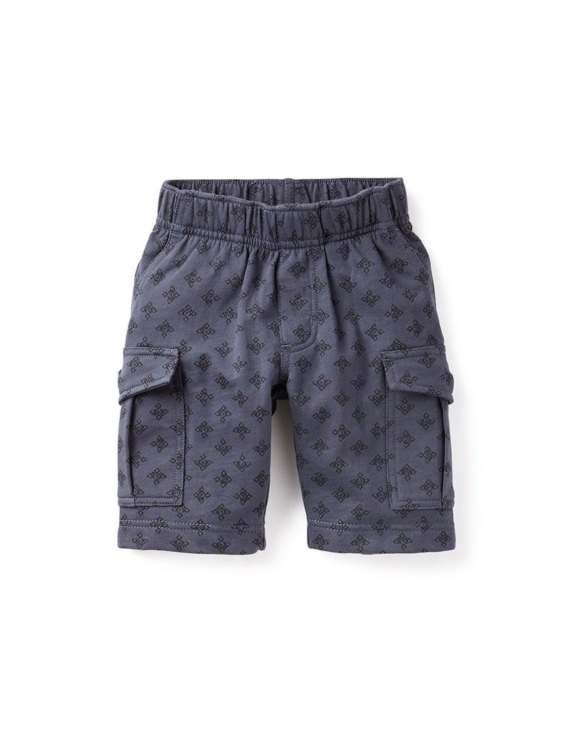 SALE! Woodblock Knit Cargo Shorts