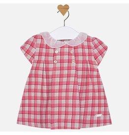 Mayoral Peter Pan Collar Baby Dress