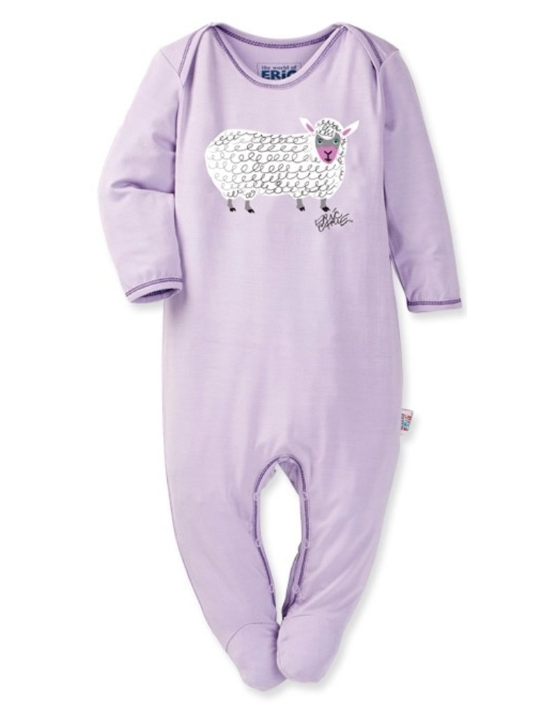 The World of Eric Carle Sheep Print Footie