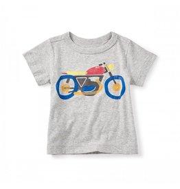 Motorbike Graphic Baby Tee