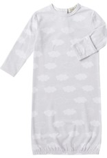 Angel Dear Grey Clouds Crew Neck Gown