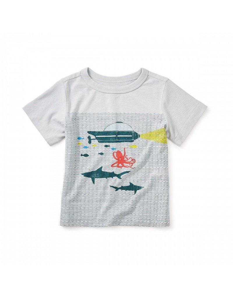 Tea Collection Aquanauts Graphic Baby Tee