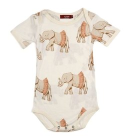 Milkbarn Tutu Elphant Short Sleeve Bamboo One Piece