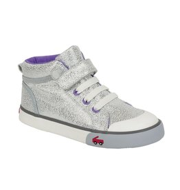 See Kai Run Glitter Peyton High Top Sneaker