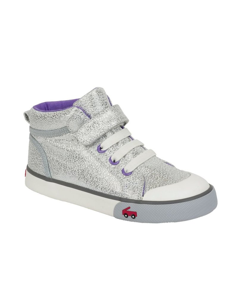 See Kai Run Glitter Peyton High Top Sneaker