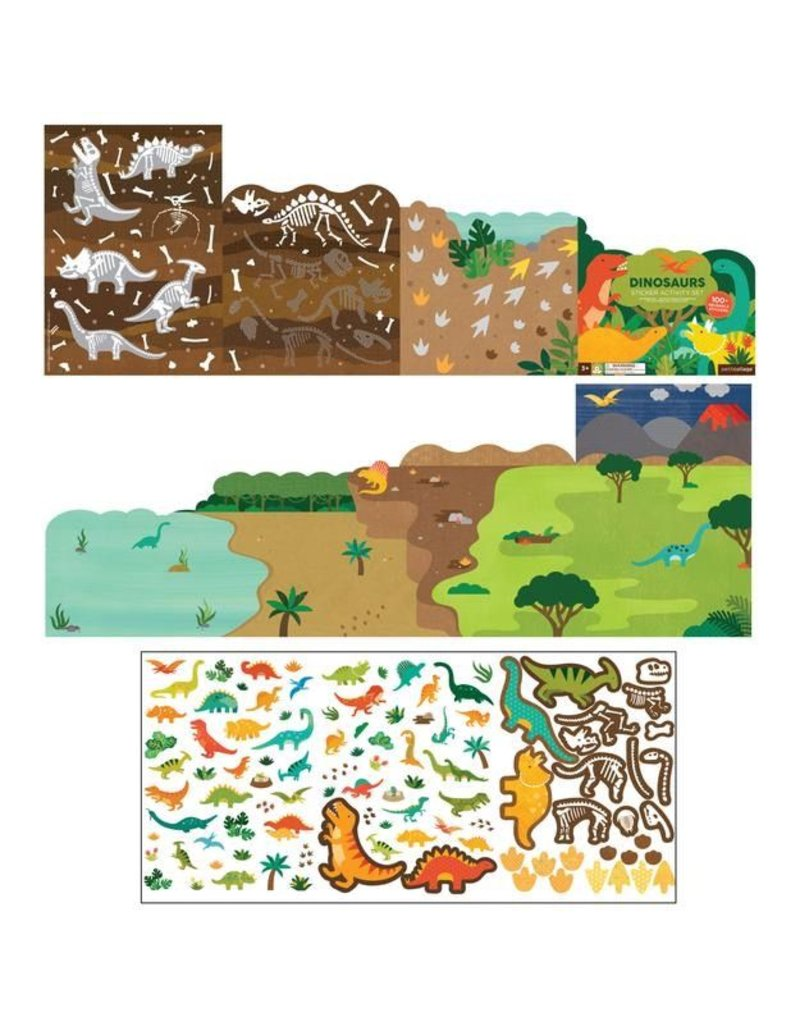 Petit Collage Dinosaurs Sticker Activity Set