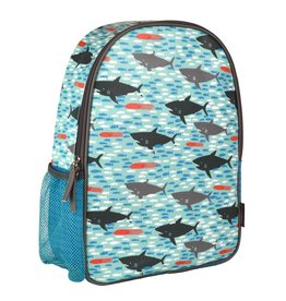 Petit Collage Sharks Eco-Friendly Backpack