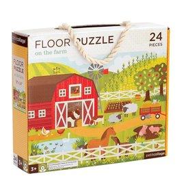 Petit Collage On the Farm Floor Puzzle