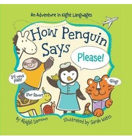 How Penguin Says Please Board Book