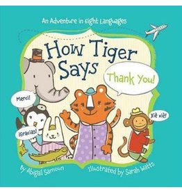 How Tiger Says Thank You Board Book