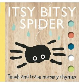 Ingram Itsy Bitsy Spider: Touch and Trace Nursery Rhymes Book