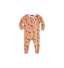 Milkbarn Deer Footed Romper
