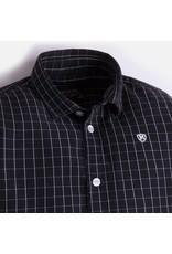 Mayoral Long Sleeve Window Pane Plaid Shirt