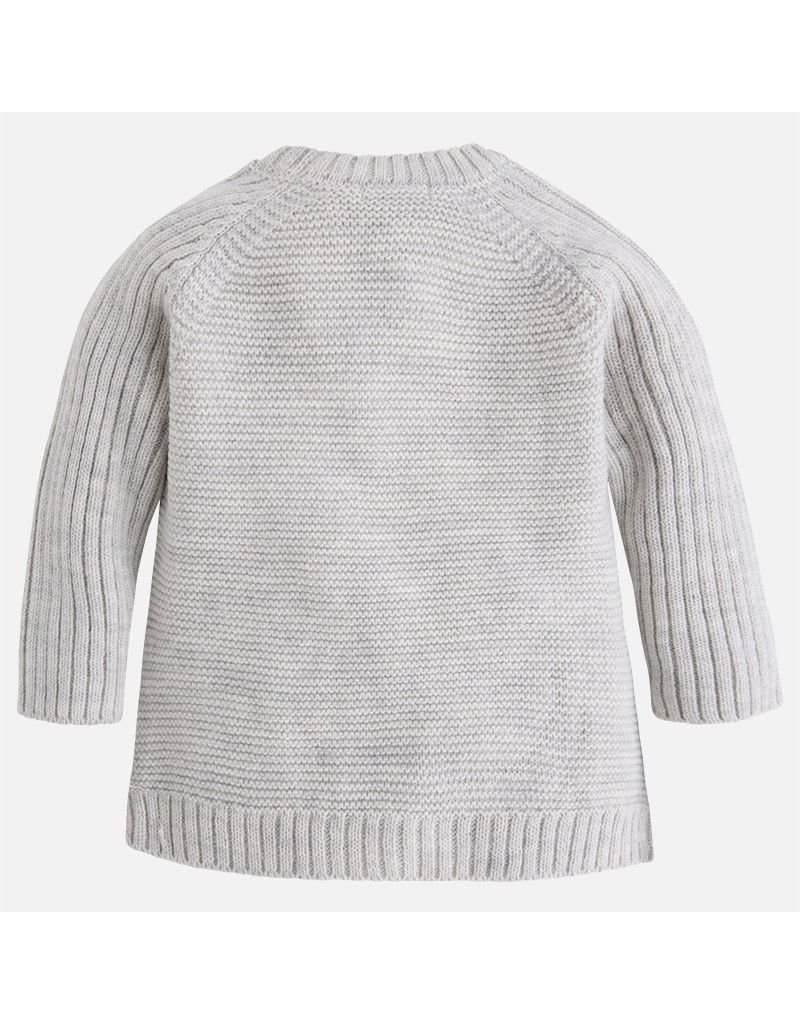 Mayoral Asymmetric Cable Sweater