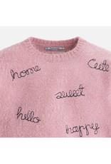 Mayoral Faux Fur Knit Sweater