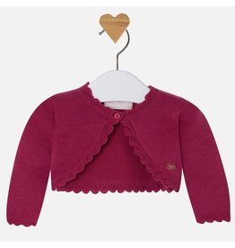 Mayoral Cropped One Button Cardigan