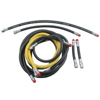 "Standard Rubber LP Regulator Hose (3/8"")"