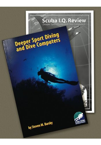TDI / SDI / ERDI SDI Deep Diver & Dive Computers Manual with Knowledge Quest