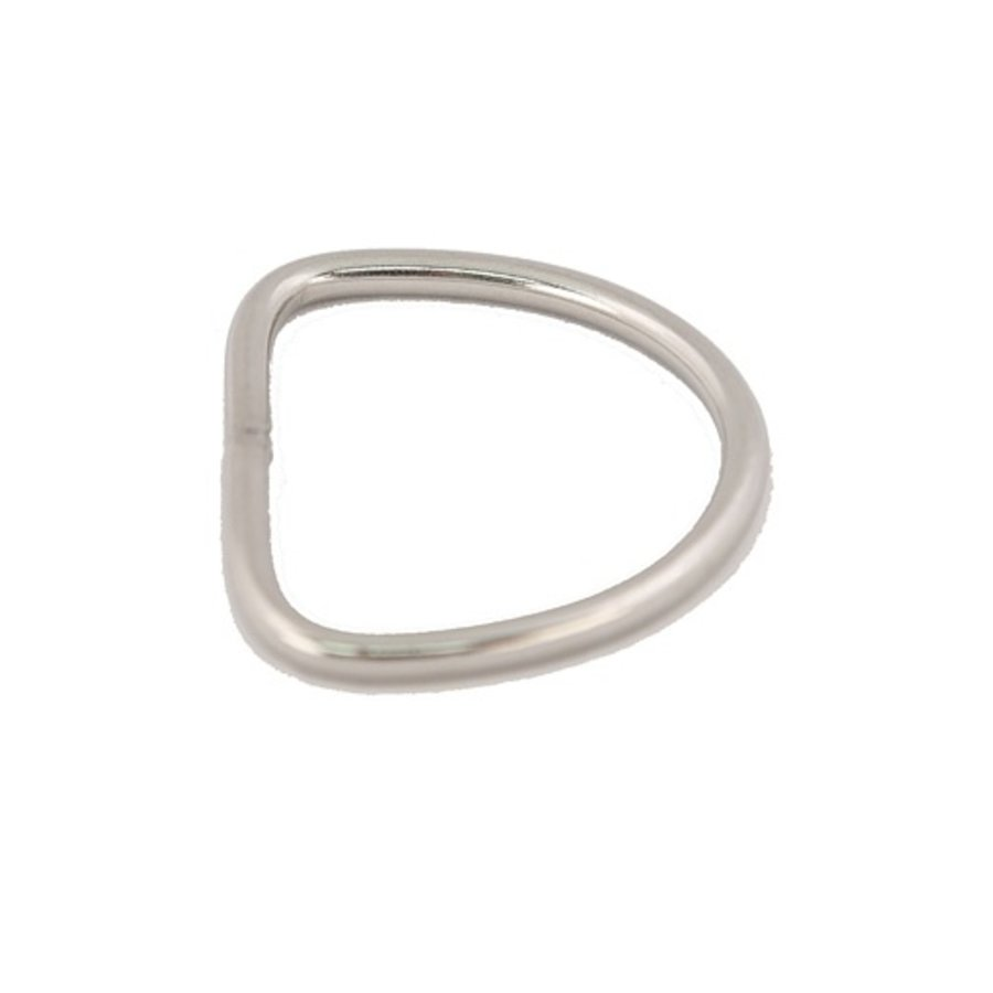 "Stainless Steel 2"" D Ring"