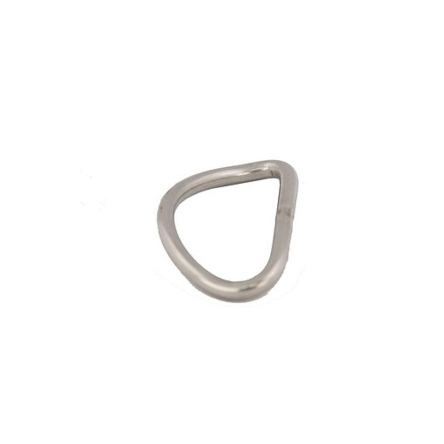"""RING - ""D""- 2""- S/S LOW PRO BENT 3/16"""