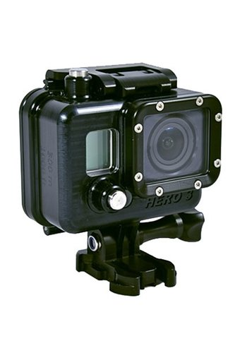 Golem Gear SubGravity GoPro3 Housing for Hero3 & 3+ Camera - rated to 500ft