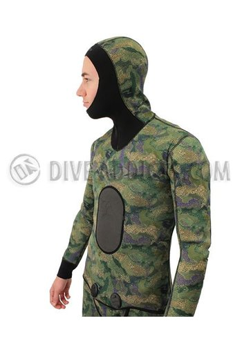 Riffe Riffe Cryptic Camo 7mm Wetsuit, 2 Piece Farmer John