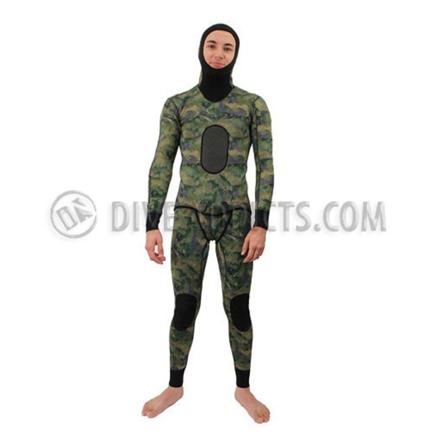 Riffe Cryptic Camo 7mm Wetsuit, 2 Piece Farmer John