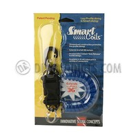 Smart Coil w/ SS gate swivel -  Translucent Blue Coil
