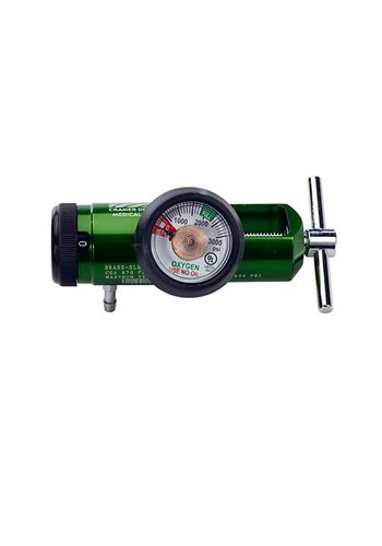 Cramer Decker Mini O2 Regulator 0-15LPM