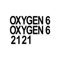 SubGravity Set of Cylinder Stickers - (OXYGEN, 6, 21) - Pair