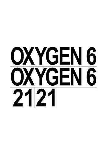 SubGravity SubGravity Set of Cylinder Stickers - (OXYGEN, 6, 21) - Pair