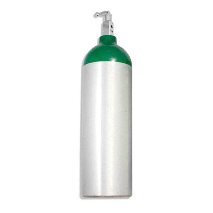 Jumbo D Oxygen Cylinder w/ Toggle Valve (22 cft)