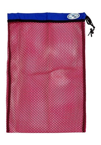 Stahlsac Stahlsac Medium Flat Mesh Bag (red)