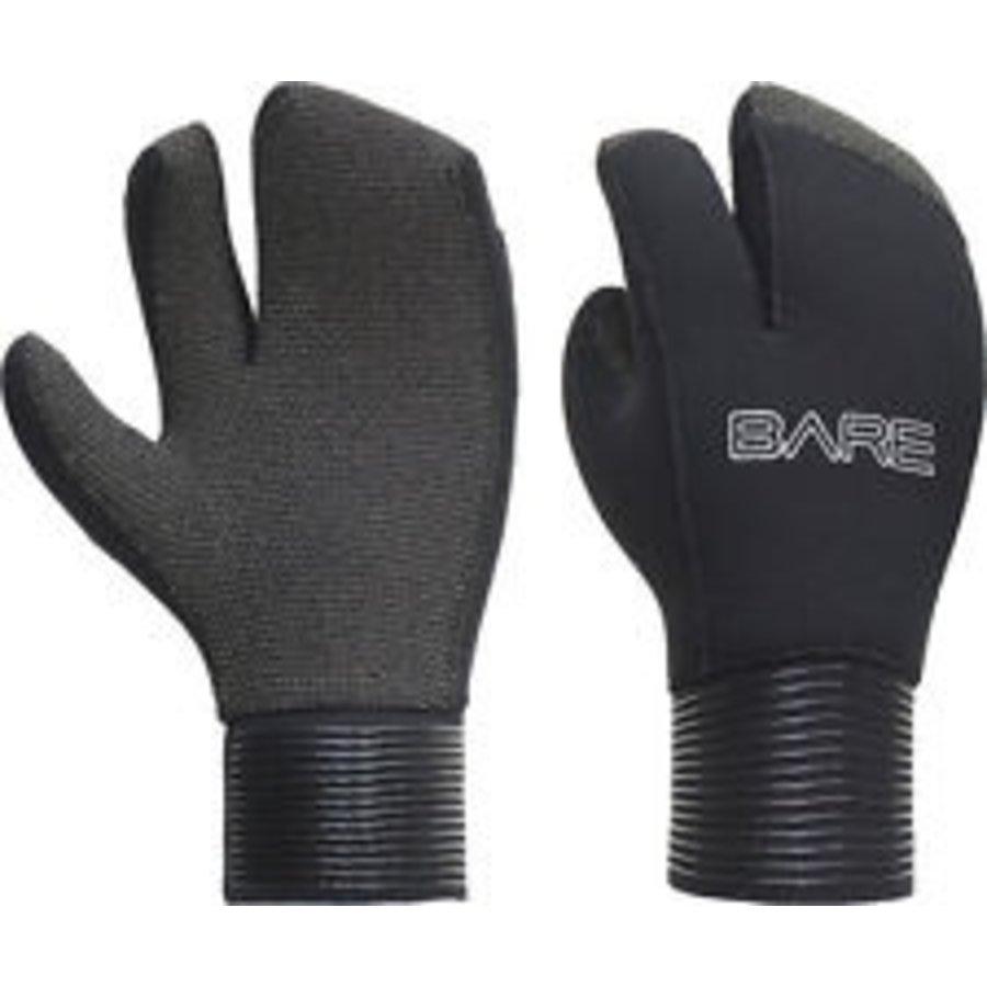 BARE 5mm 3 Finger Mitt w/ Kevlar