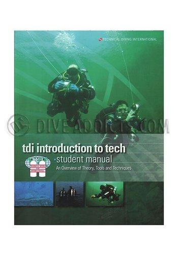 TDI / SDI / ERDI TDI Intro to Tech Manual with Knowledge Quest