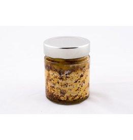 Moutarde noisettes et huile d'olive
