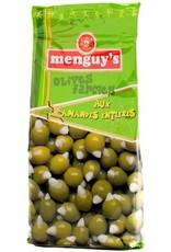 Olives vertes farcies aux amandes entières