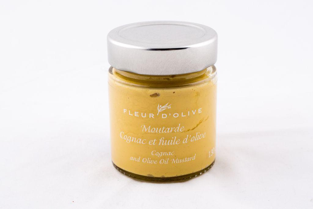 Moutarde cognac et huile d'olive