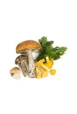 huile d'olive - champignon sauvage et sauge