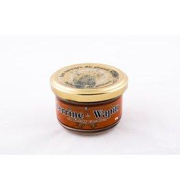 Terrine de wapiti au wisky canadien