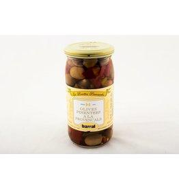 Olives pimentées à la provençale