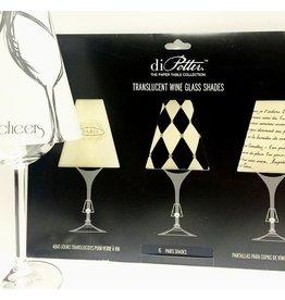 """Abat-jour à coupe de vin """"Paris shades"""""""