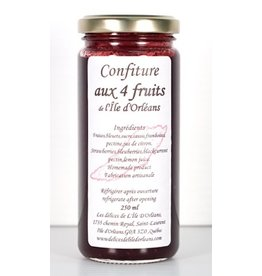 Confiture aux 4 fruits