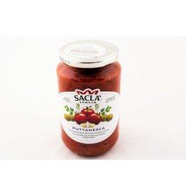 Sauce puttanesca tomates cerise, olives et câpres
